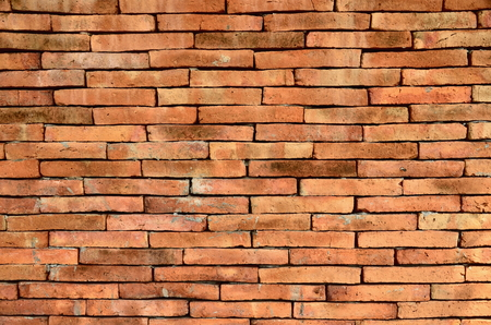 red brick: Red Brick block wall for background textures