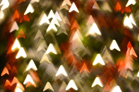 abstract arrows shape bokeh for background