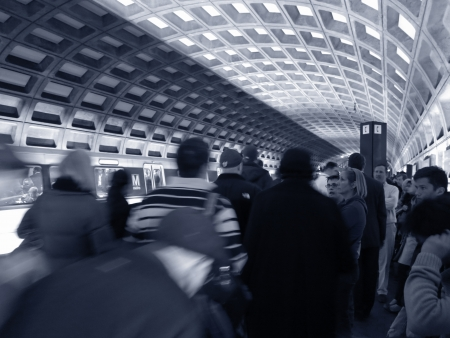 Subway in DC Stock fotó - 21632073
