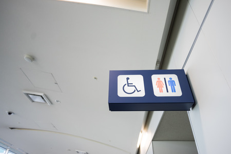 bathroom Signs have indicate that a toilet for the disabled