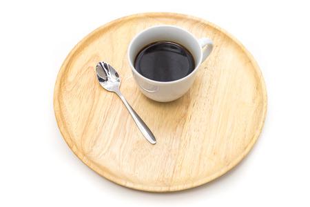 Breakfast, Tray of coffee, Ready to drink Banco de Imagens