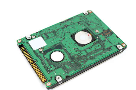Harddisk drive with circuit board photo