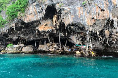 bird nest cave phuket, thailand