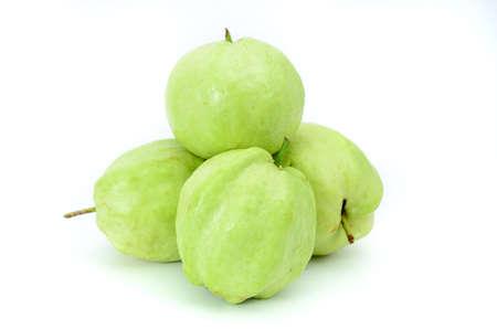isolated guava Banco de Imagens