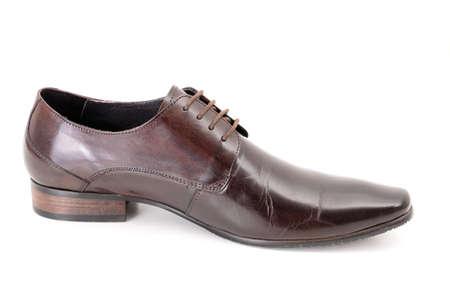 fashion leather shoe Banco de Imagens