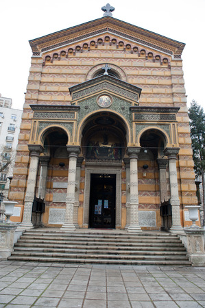 bucuresti: Princess Balasa Church, Bucharest, Romania  Stock Photo