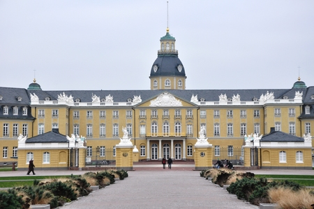 karlsruhe: Karlsruhe Palace BadenWrttemberg Germany