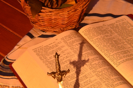 Bible and Sword photo