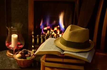 thesaurus: Fireside study