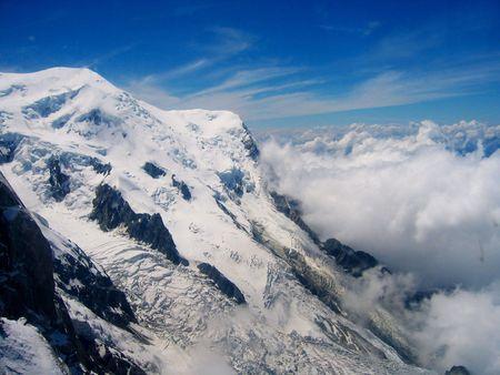 mountainscape: Mountain peak