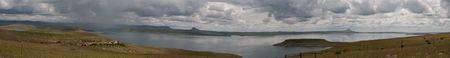 sterkfontein dam panoramic Stock Photo - 5423120