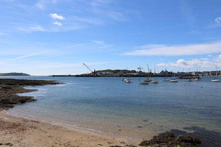 Cornwall Estuary Sunny Day