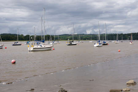 Yachts moored in Tamar