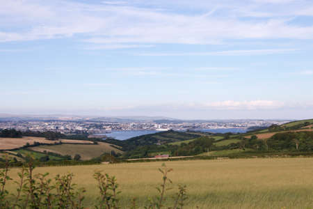 Plymouth City from Cornwall