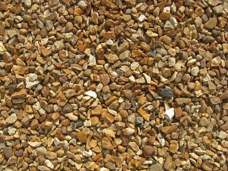 flint: Gravel path made of flint stones that are flattened.