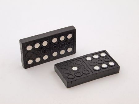 Dominos used to play with for fun or money.