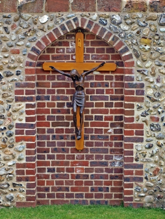 worshipers: In medieval times, Walsingham was one of the most important pilgrimage sites in the world. It is still a place of pilgrimage today and is visited by many thousands of worshipers each year.  Stock Photo
