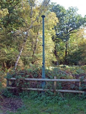 wasting away: The posts in Holme fen record the wasting away of the peat which once covered much of the fens. The original post was buried with its top level with the ground in 1852, after the drainage of the nearby Whitllesey Mere. This post  was put in place when the