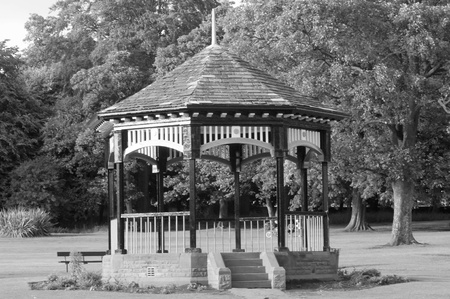 bandstand: victorian bandstand Stock Photo
