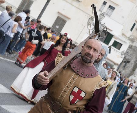 republics: Sixtieth edition of the Historical Regatta of the Republics Maritme, appearing in costume