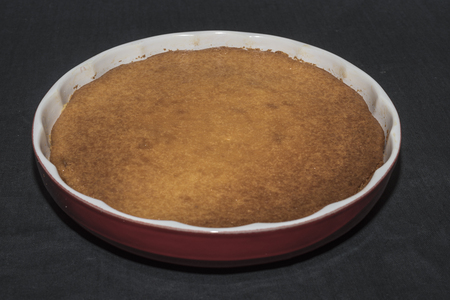 Migliaccio. Typical sweet Campano, Spanish and South American origin. ingredients and procedure.