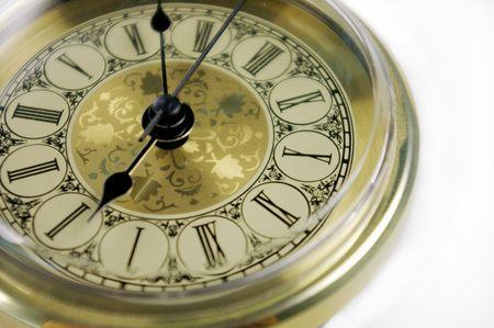 Gouden horloge Stockfoto - 445615