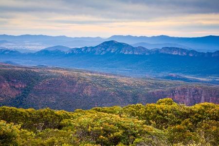 View from Mountt William, Grampians National Park, Victoria, Australia