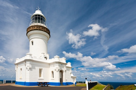 The Cape Byron lighthouse, New South Wales, Australia Stock Photo