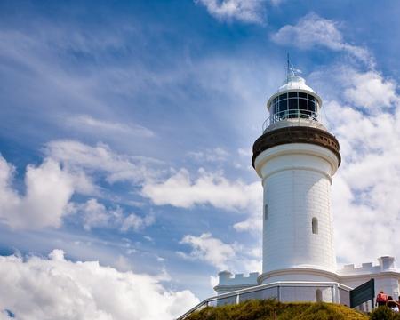 byron: The Cape Byron lighthouse, New South Wales, Australia Stock Photo