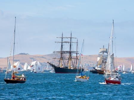 Australian Wooden Boat Festival at Hobart, Tasmania Australia Editorial