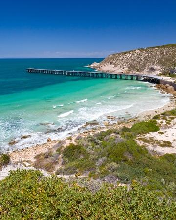 yorke: Stenhouse Bay Innes National Park, South Australia Stock Photo