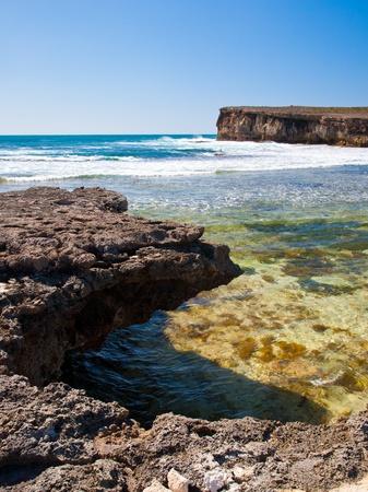 sa: Pondalowie Bay, Innes National Park, South Australia Stock Photo