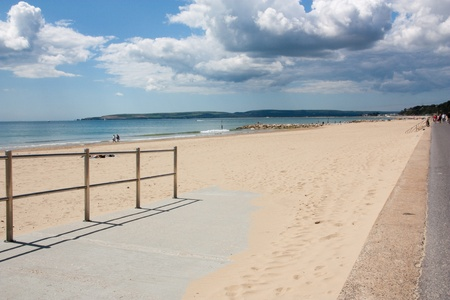 Branksome Chine Beach Poole Dorset England UK