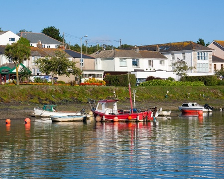 The Historic harbour at Hayle Cornwall England UK photo