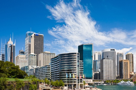 new south wales: Circular Quay and Sydney Cove, Sydney New South Wales Australia