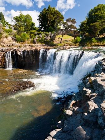 newzealand: Haruru Falls, near Paihia Northland, New Zealand