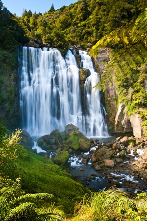 water's: Marakopa Falls North Island New Zealand
