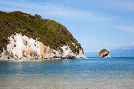 nelson: Puponga in Golden Bay near Nelson, South Island, New Zealand Stock Photo