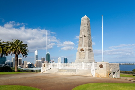 War memorial in Kings Park Perth Western Australia