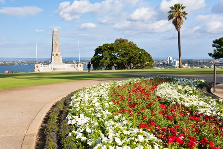 War memorial in Kings Park Perth Western Australia photo