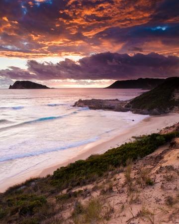 Sunset on Mandalay Beach near Walpole Western Australia