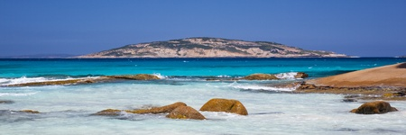 Salmon Beach Esperance Great Ocean Drive Western Australia Stock Photo