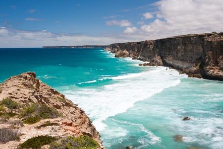The head of the Great Australia Bight Nullarbor