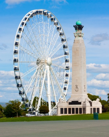 observation wheel: Observation Wheel on Plymouth Hoe