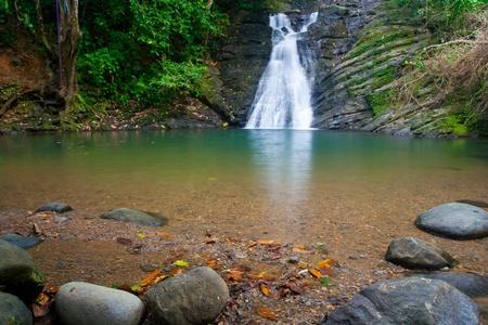 Costa Rican waterfall near Dominica