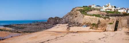jamones: La playa de Hope Cove, South Hams Devon Inglaterra Reino Unido