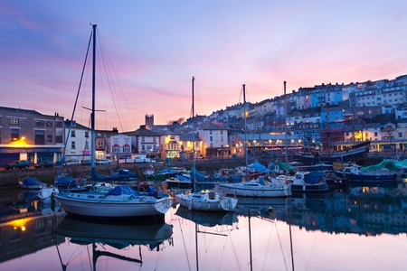 The fishing harbour at Brixham Devon England UK Stock Photo - 13204434