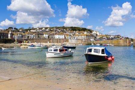mousehole: The fishing village of Mousehole Cornwall England UK Editorial