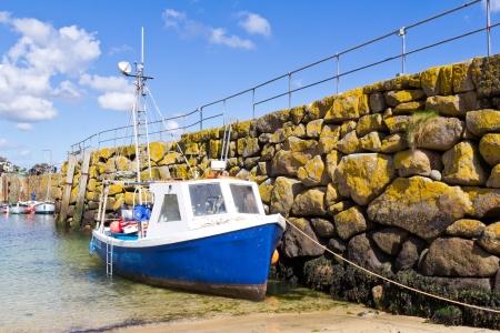 The fishing village of Mousehole Cornwall England UK Stock Photo - 13766177