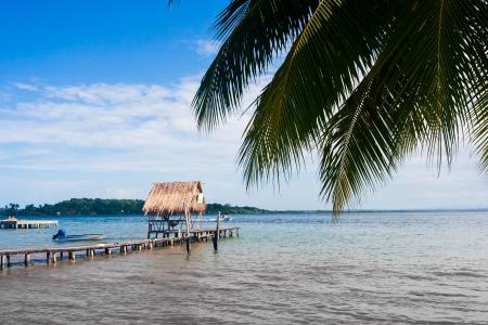 Careneros Island Bocas Del Toro Panama Stock Photo